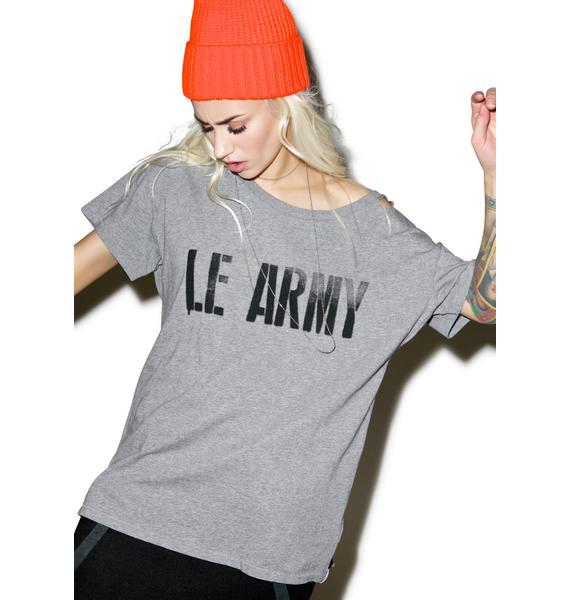 One Teaspoon Le Army Abbey Tee