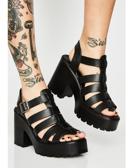 Motto Platform Sandals