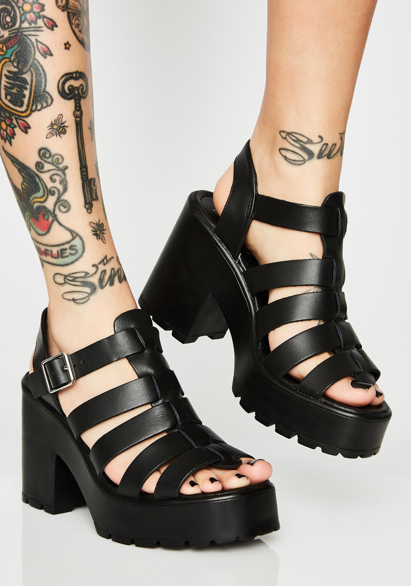 ROC Boots Australia Motto Platform Sandals