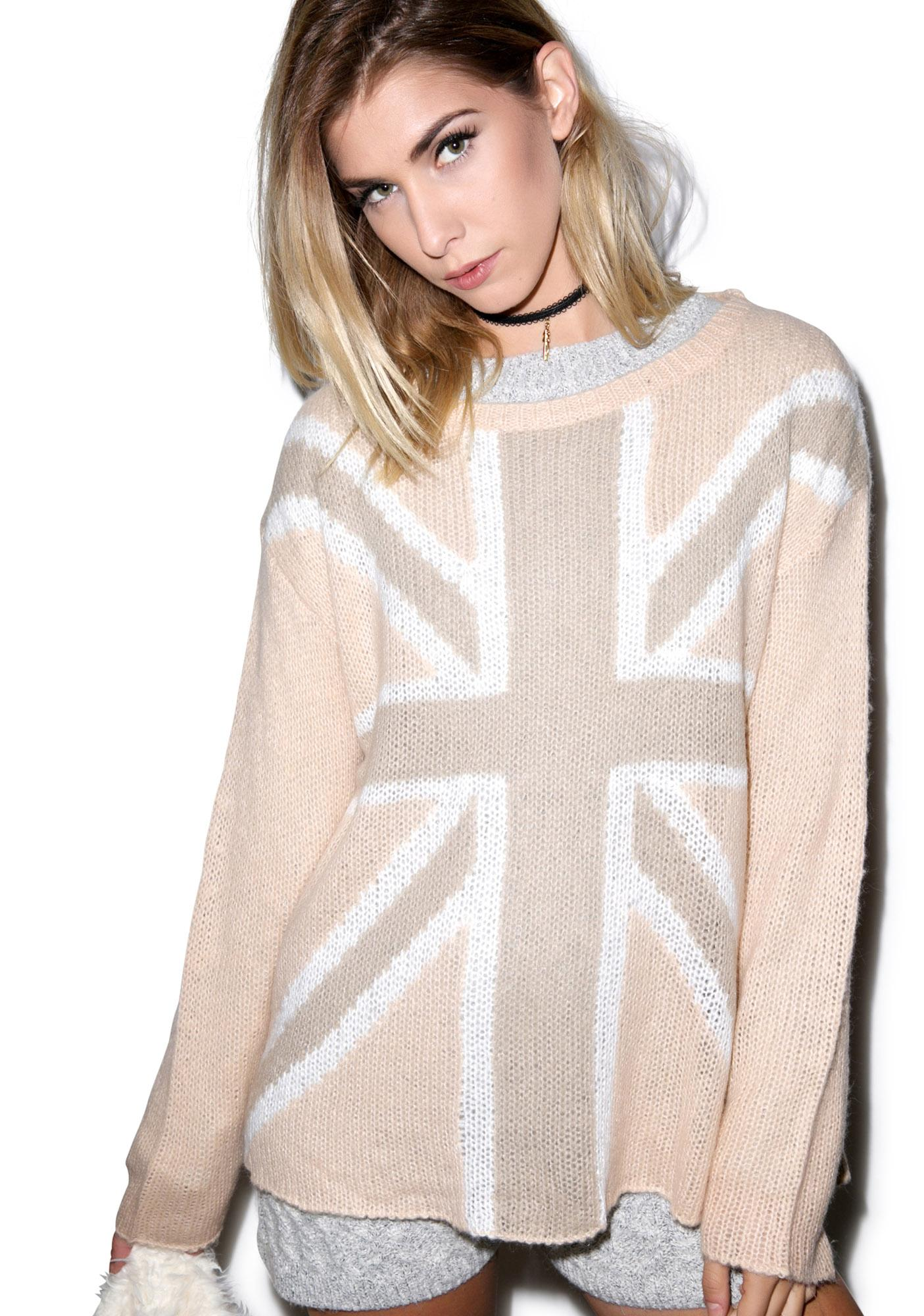 Wildfox Couture Save the Queen Roadie Sweater
