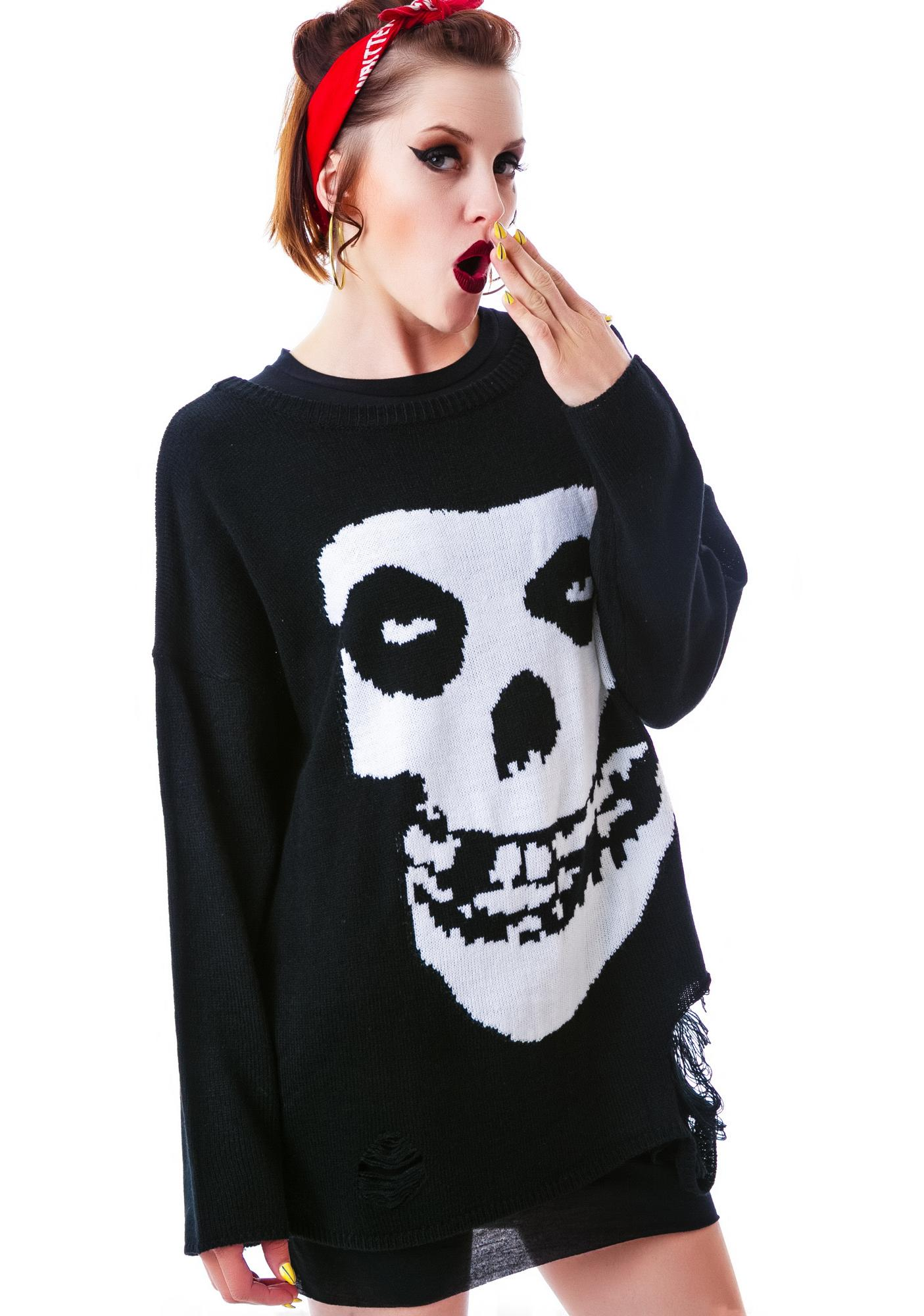 Iron Fist Misfits Torn Sweater