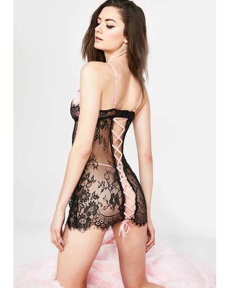 Babe Bliss Lace Dress