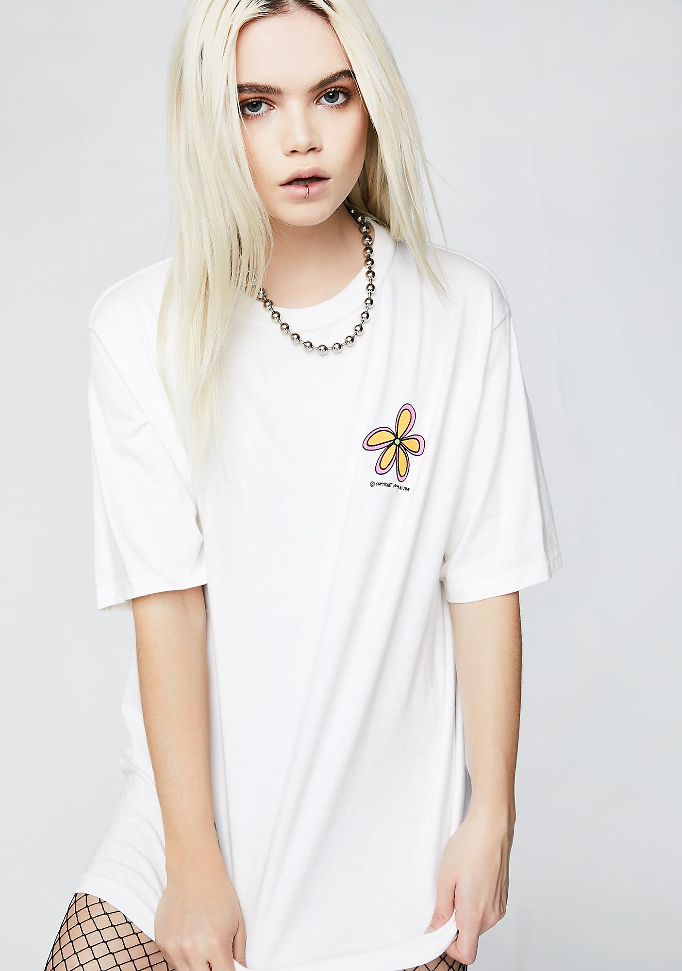e587320f Stussy Old Flower Tee | Dolls Kill