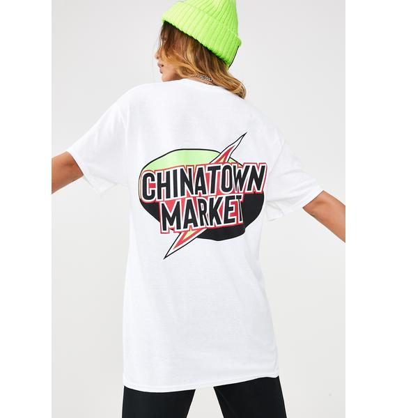 CHINATOWN MARKET Lightning T-Shirt