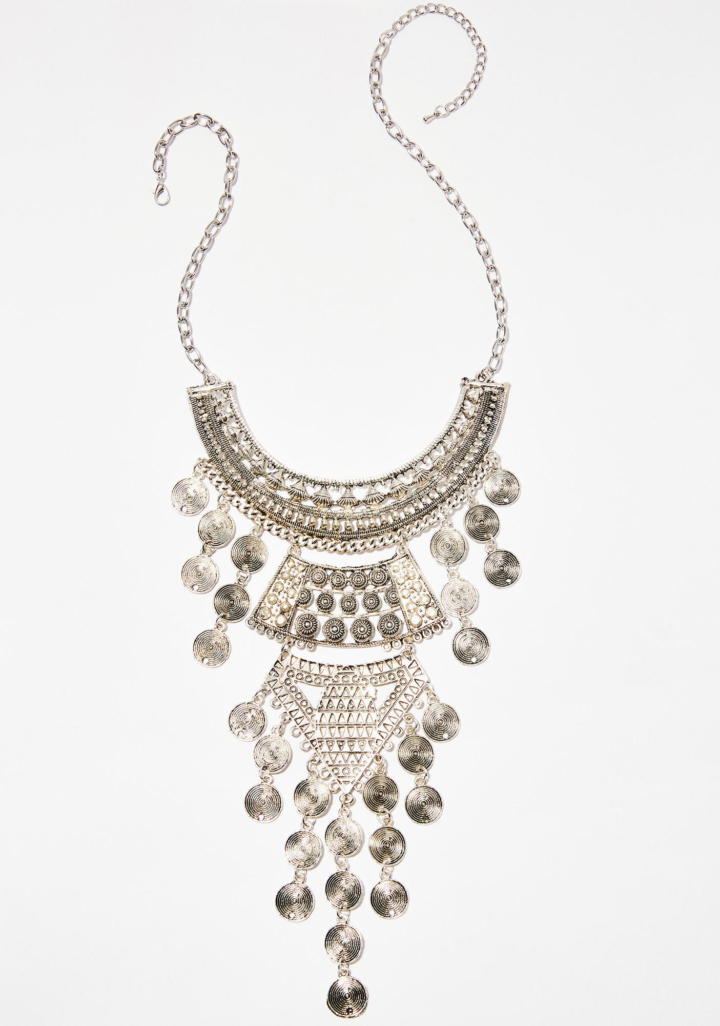 Trip Around The World Statement Necklace