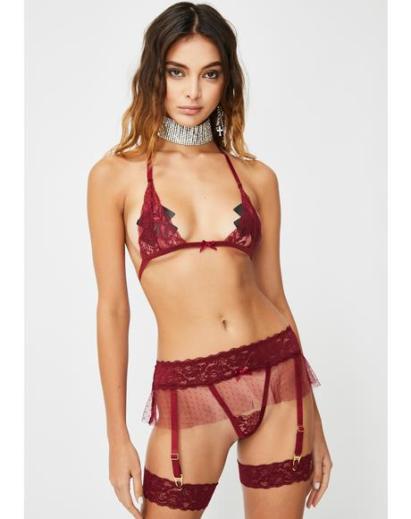 Dangerous Delights Lace Set