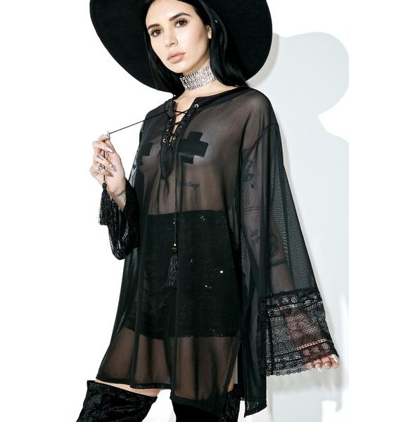 Obsidian Sheer Tunic