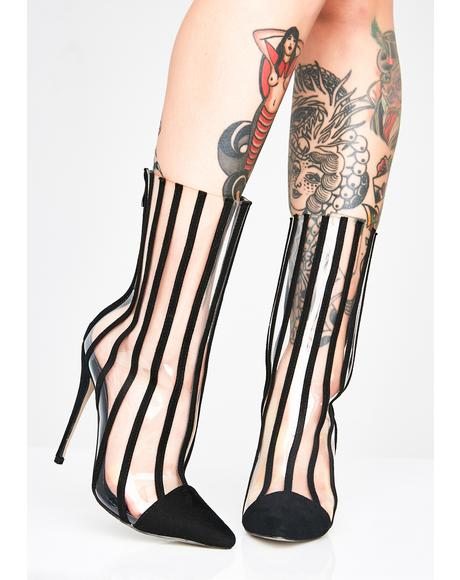 Cray Cray Striped Boots
