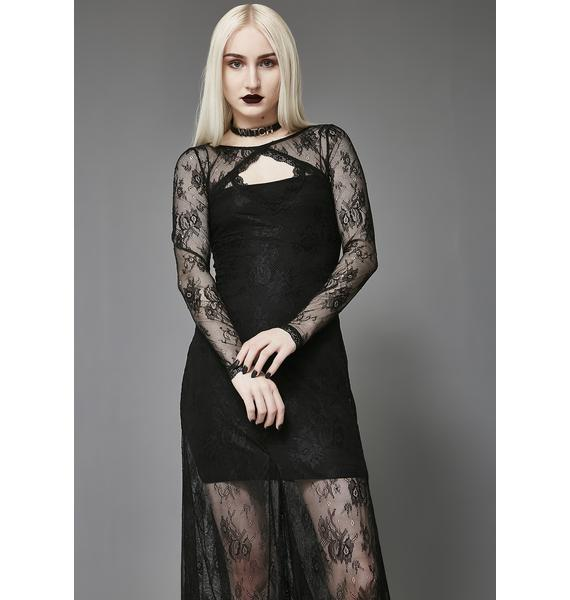Widow Crown Of Sympathy Lace Dress