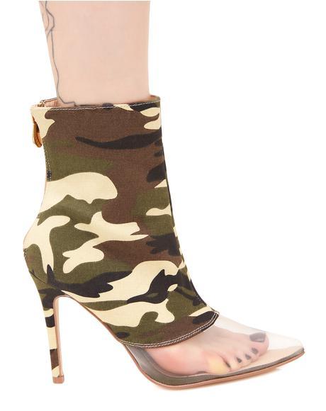Find Me Camo Heels