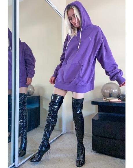 Violet Authentic Hoodie Sweatshirt