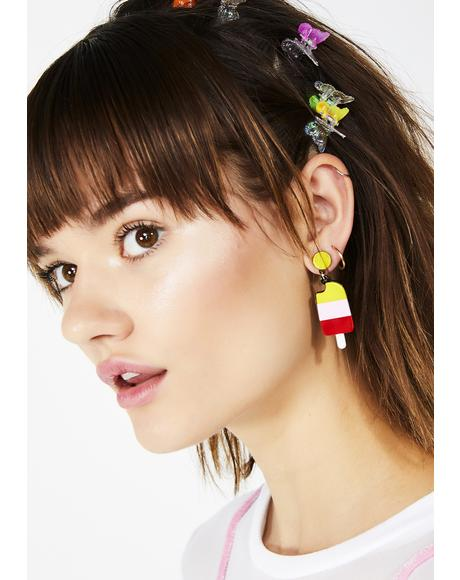 We All Scream For Ice Cream Earrings