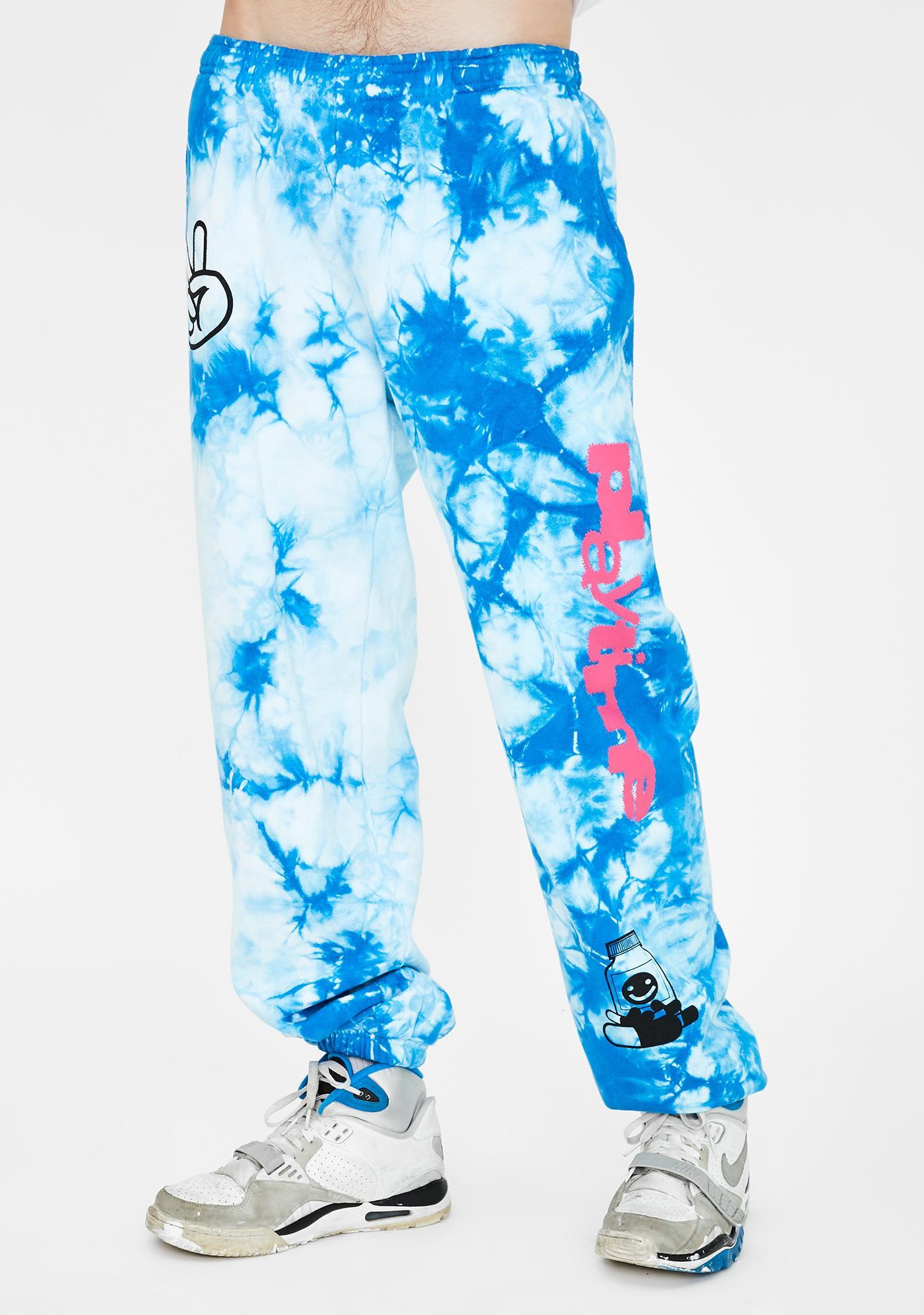 Club Fantasy Playtime Tie Dye Sweatpants