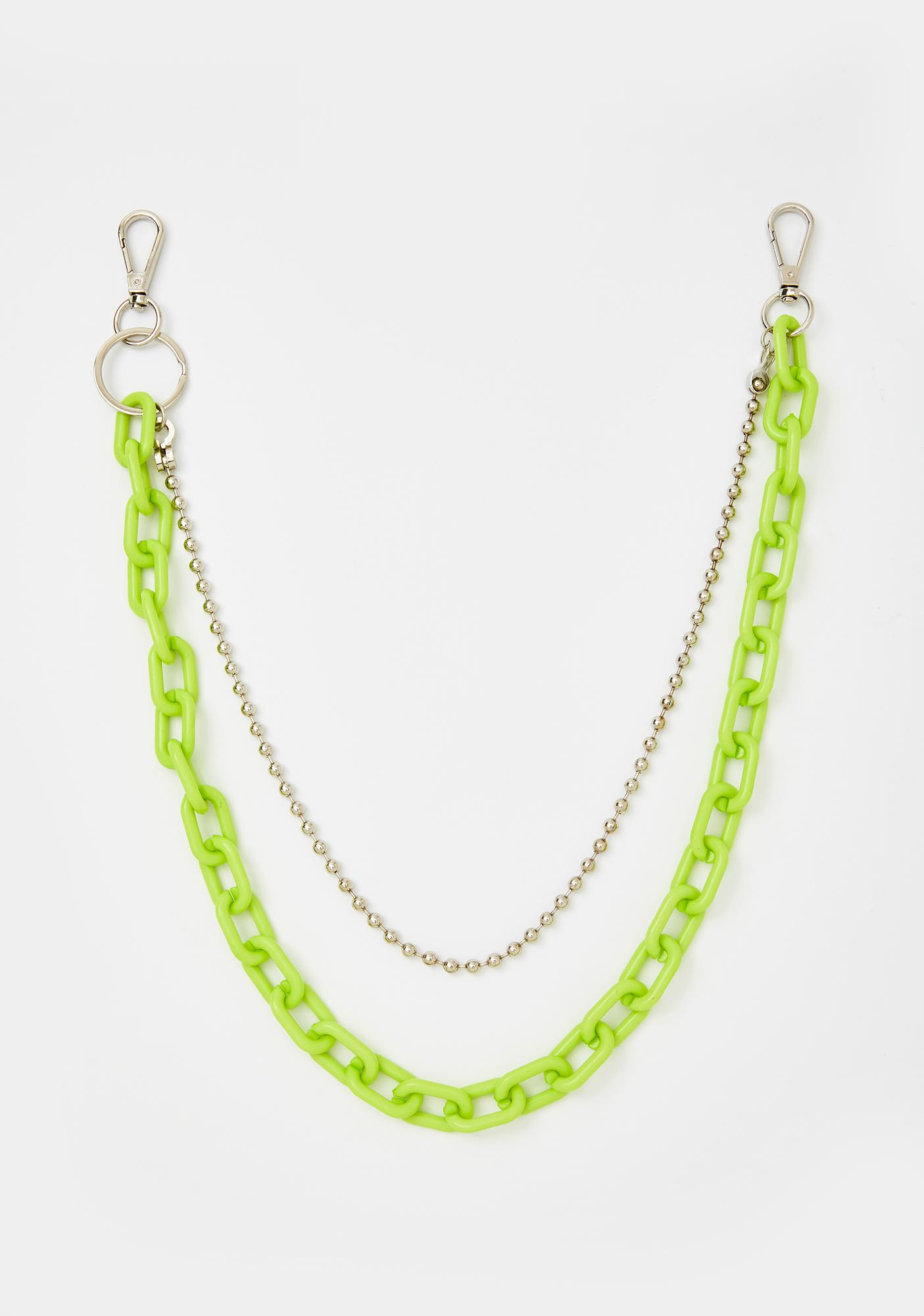 Slime Off The Cuff Chain Belt