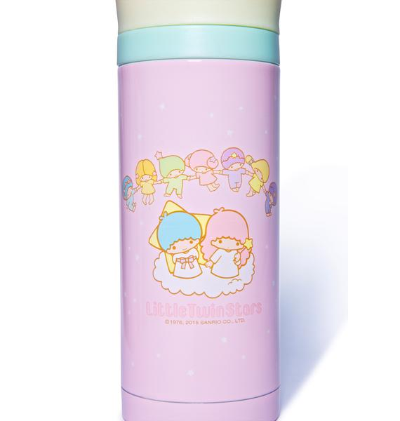 Sanrio Little Twin Stars Cherubs Water Bottle