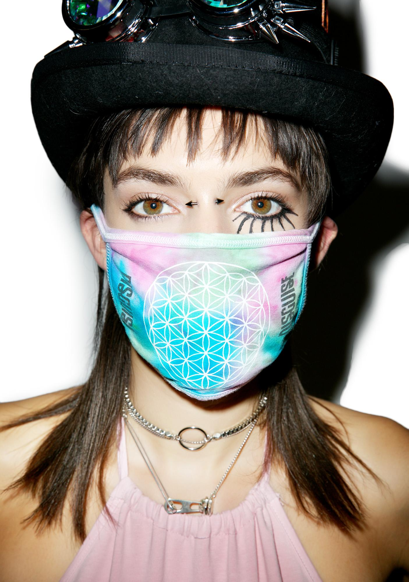 MeYouVersusLife x Disguise Flower Of Life Face Mask