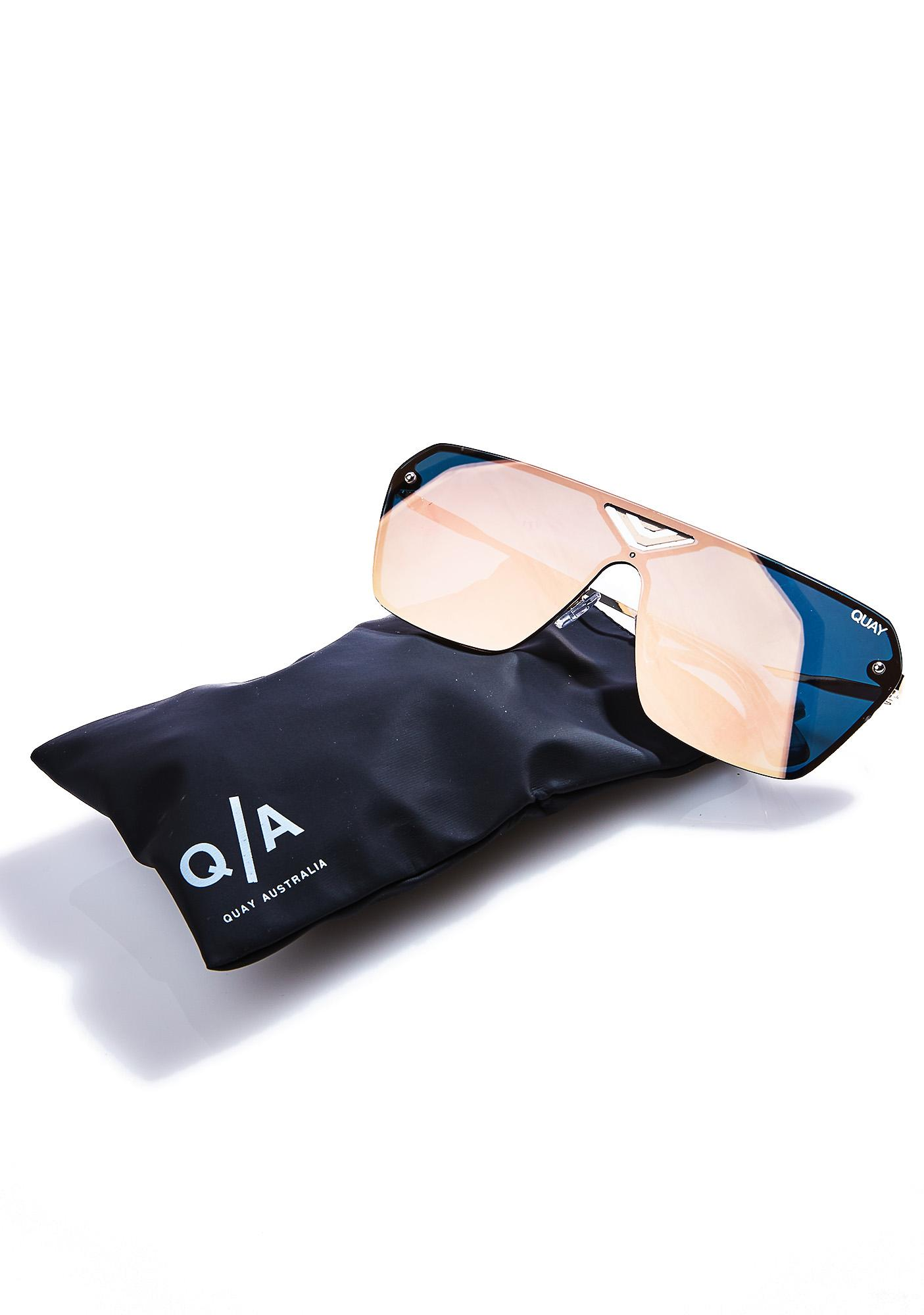 Quay Eyeware Pink Stargaze Sunglasses