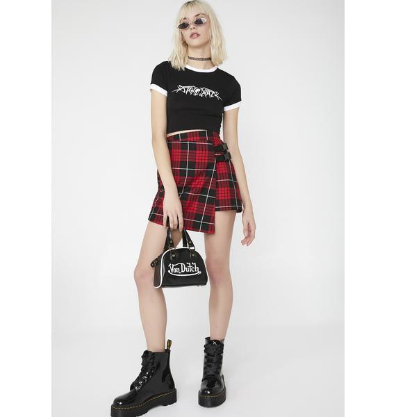 LOVE TOO TRUE Courtney Wrap It Skirt