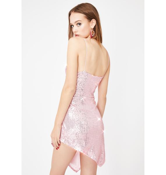 Lioness Pink Models N' Mortals Mini Dress