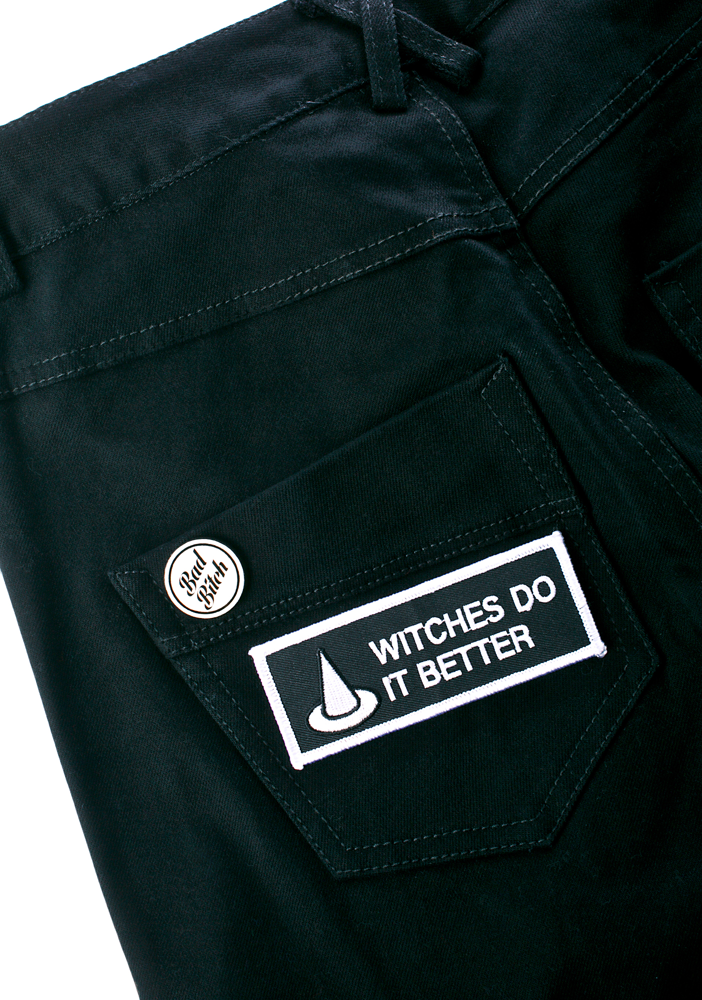 Witch Worldwide Witches Do It Better Patch