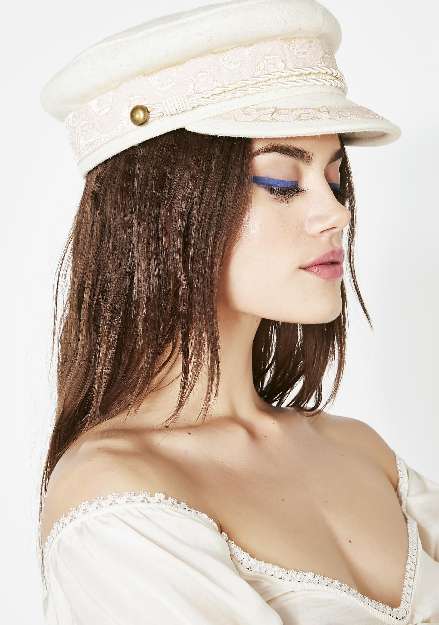 Natural Train Wreck Conductor Hat