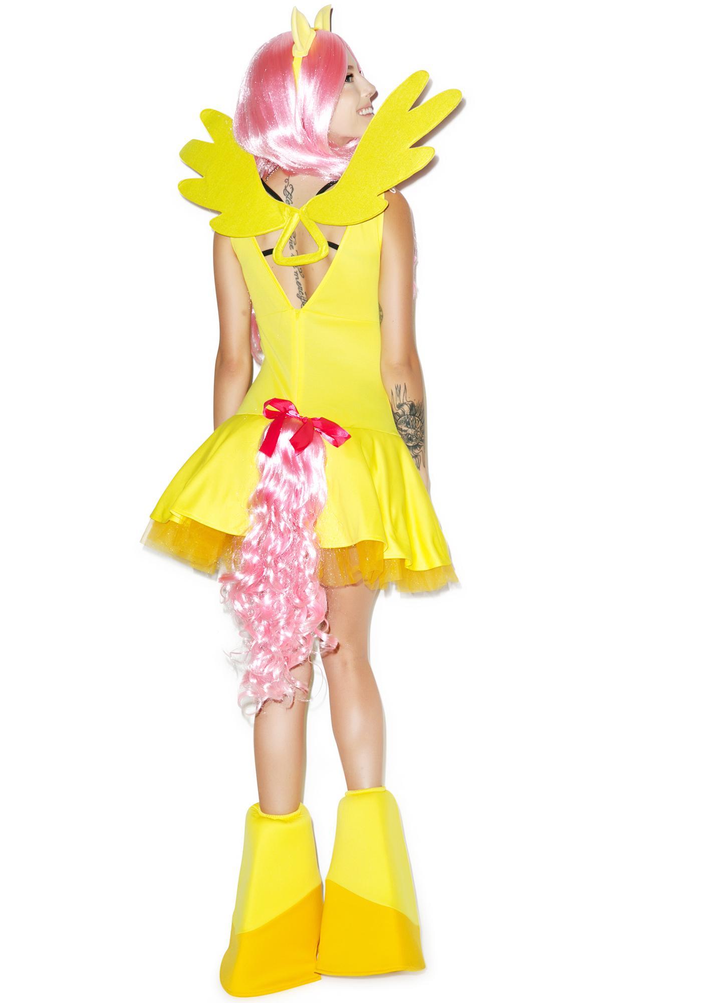 fluttershy costume set | dolls kill