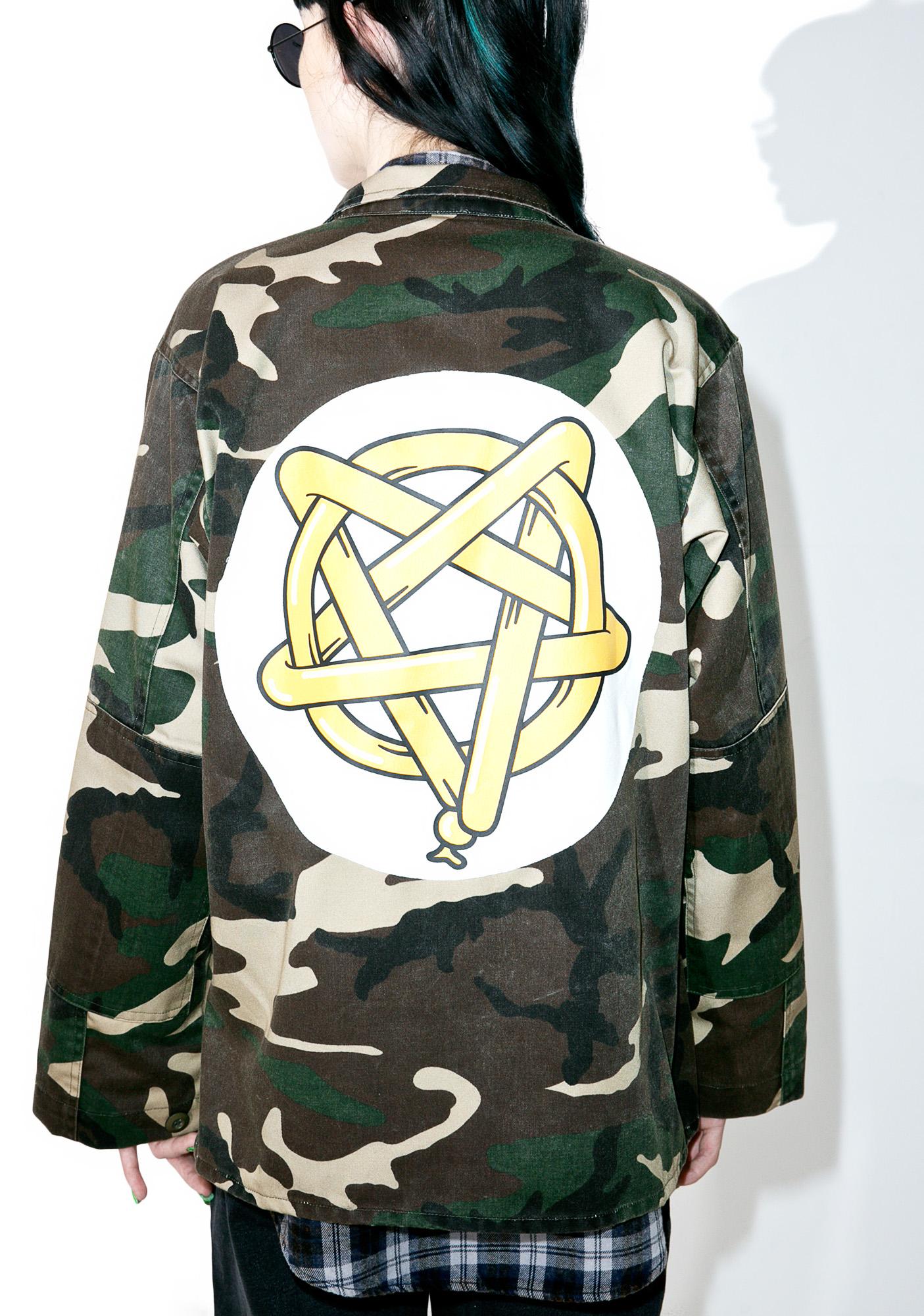 Pentagram Camo Vintage Jacket