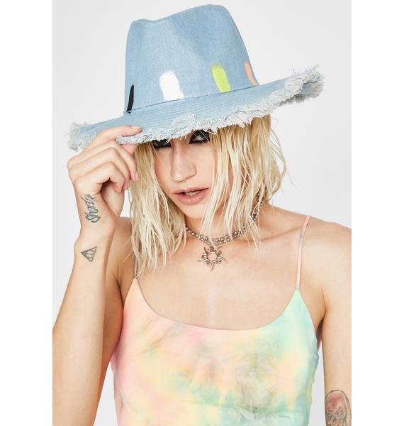 Wavey Hate The Playa Fedora Hat