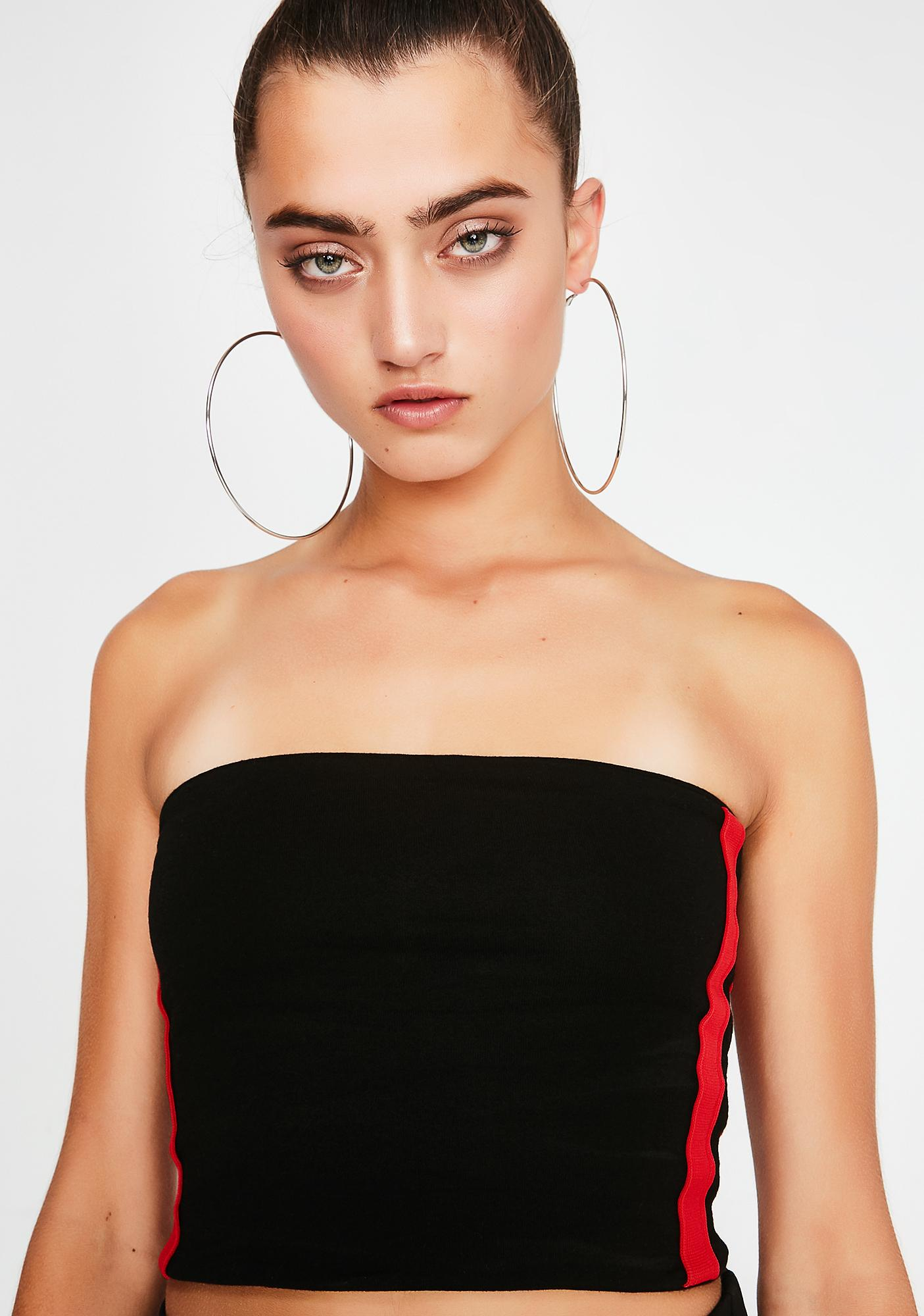 Racing Heart Tube Top