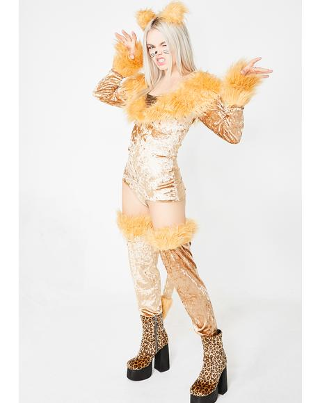Lovely Lioness Costume