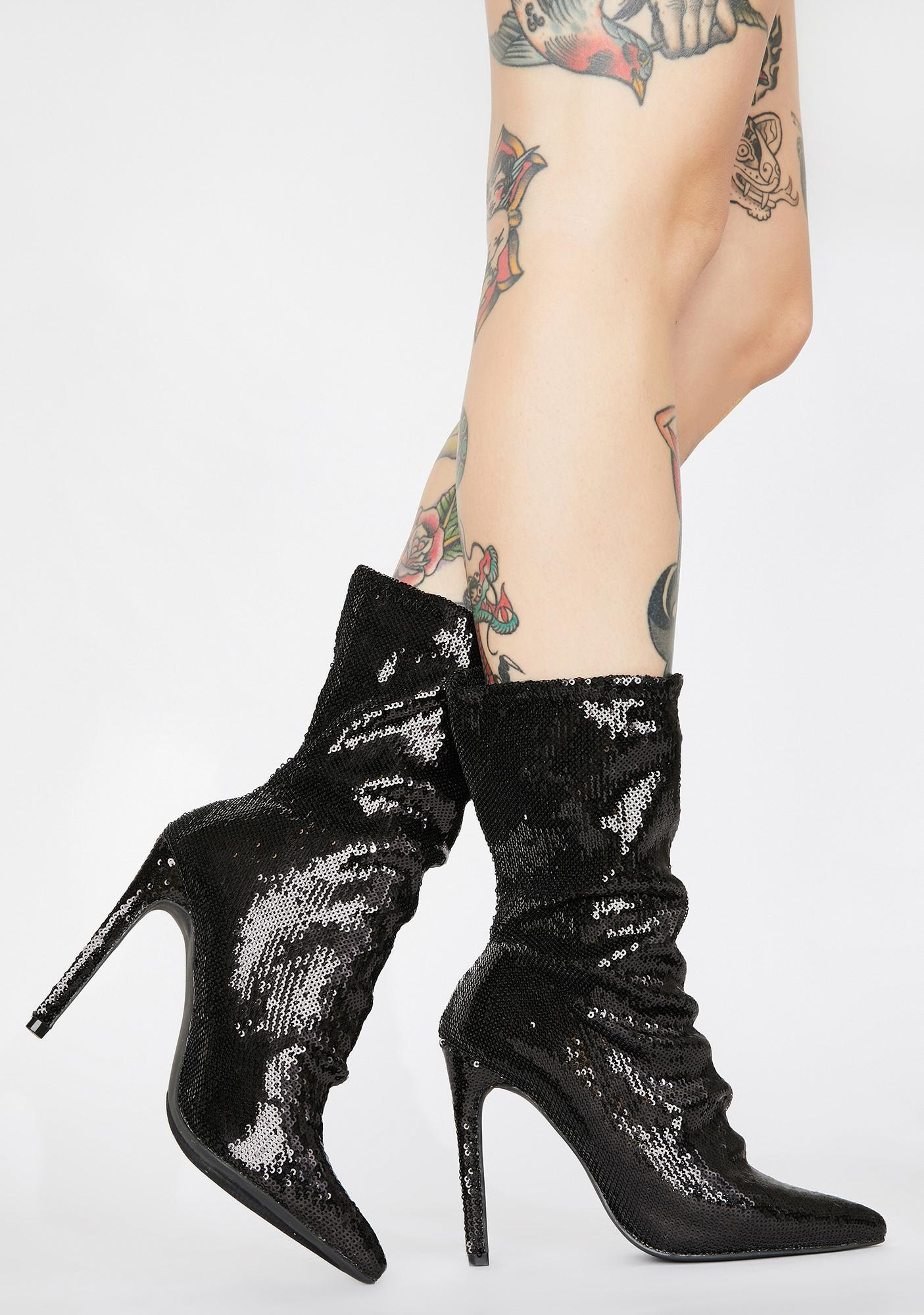 Midnight Solo Debut Ankle Booties
