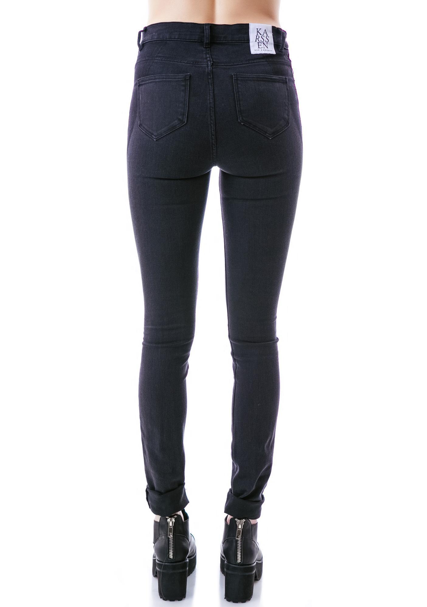 Zoe Karssen High Rise Skinny Jean
