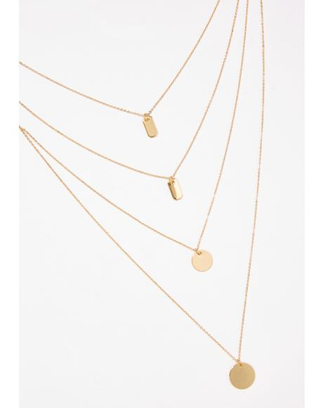 A Milli Layered Necklace