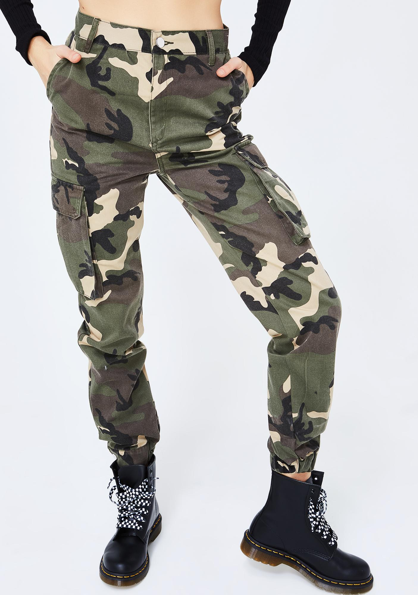 Hold Your Position Camo Pants