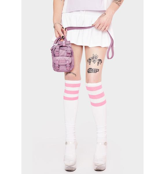 Doughnut Official X Unicorn Dream Purple Macaroon Tiny Ribbon Crossbody