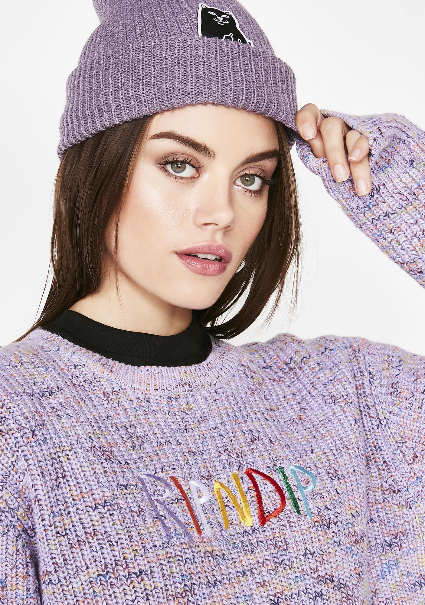 RIPNDIP Multi Knit Sweater
