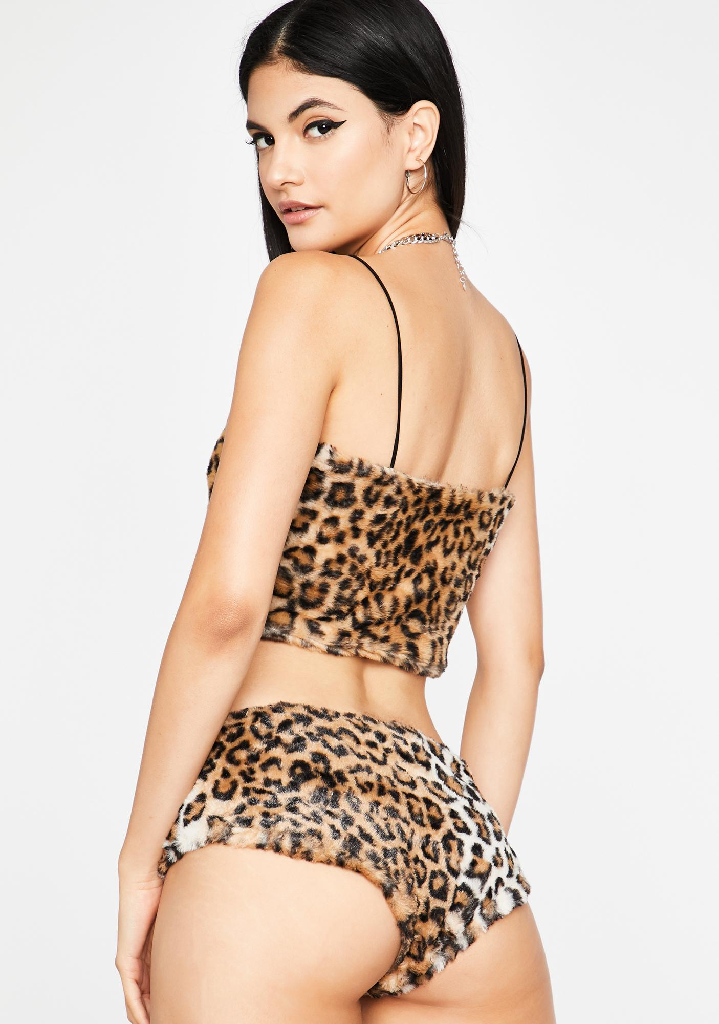 Stoned Age Furry Leopard Set