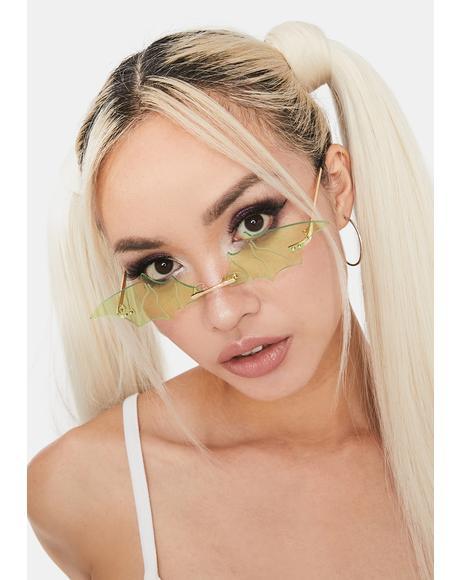 Slime Batty About U Tiny Sunglasses