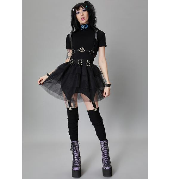 Widow Sin In Disguise Tulle Skirt