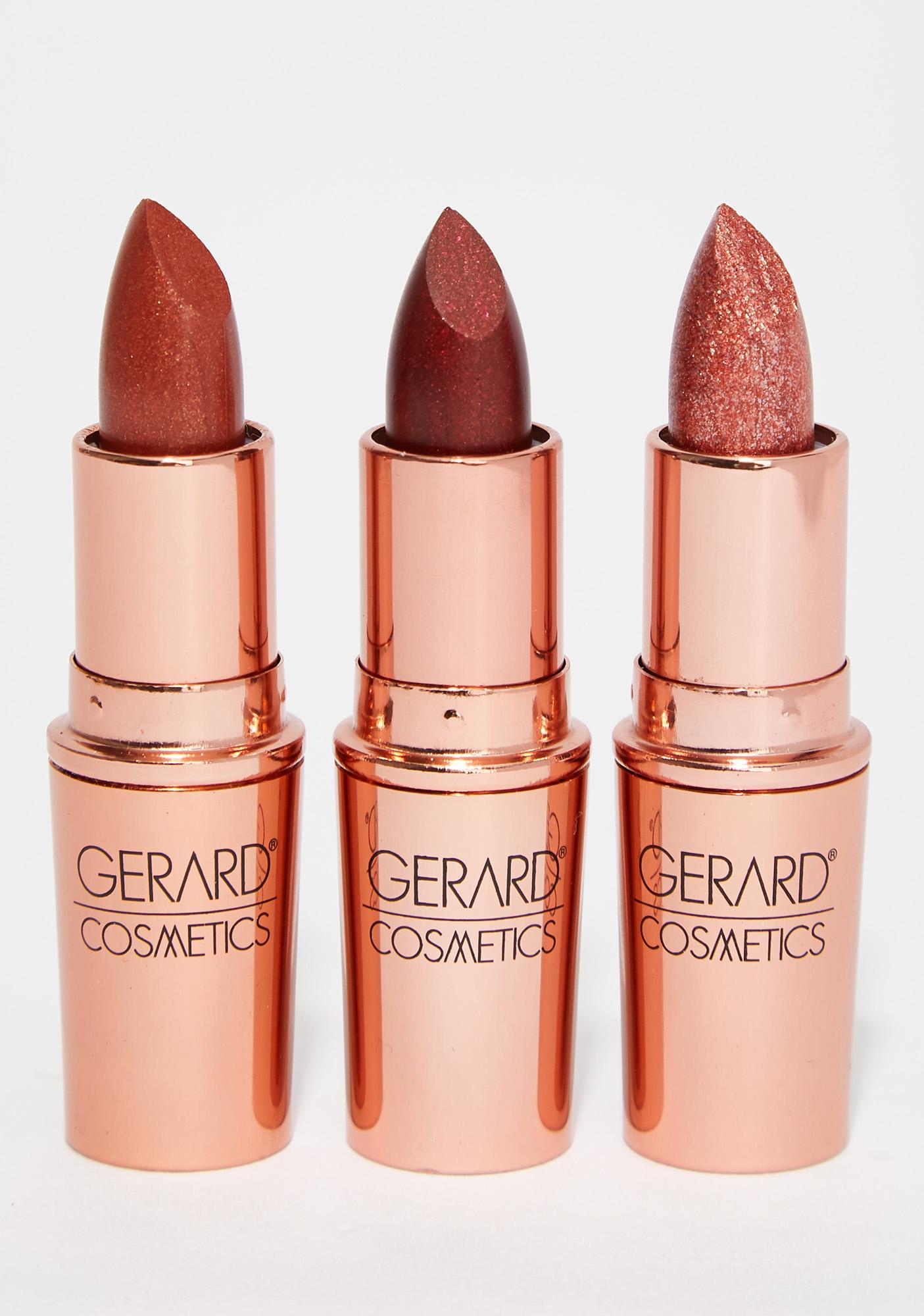 Gerard Cosmetics Fame Glitter Lipstick