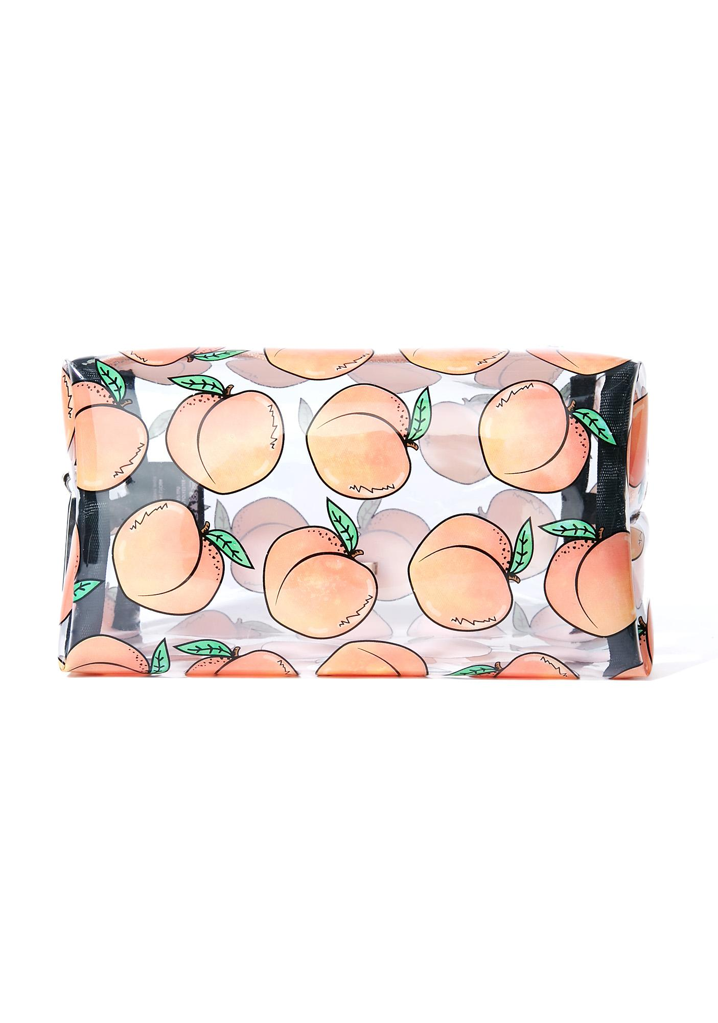 Skinnydip Peachy Makeup Bag