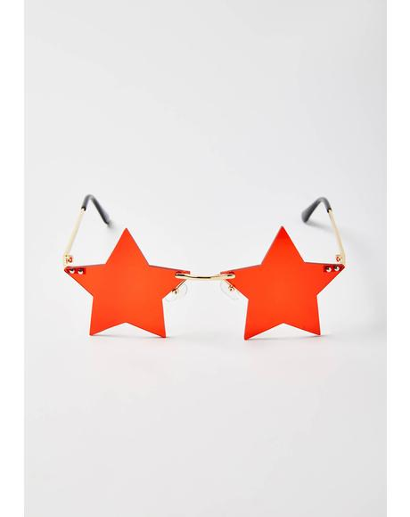 Fire Key To The VIP Star Sunglasses