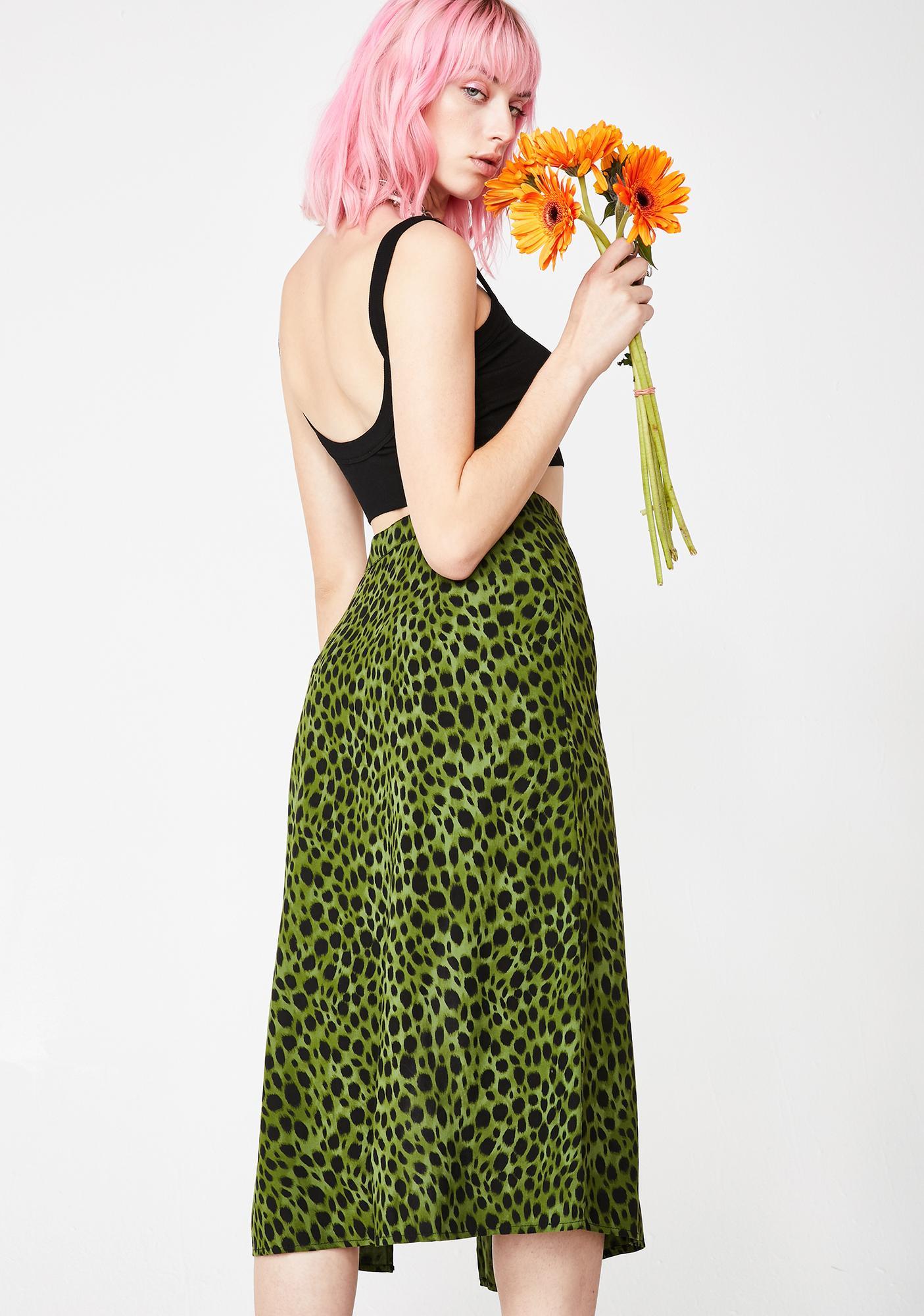 Motel Cheetah Saika Skirt