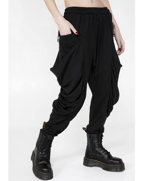 Wicked Release Drop-Crotch Joggers
