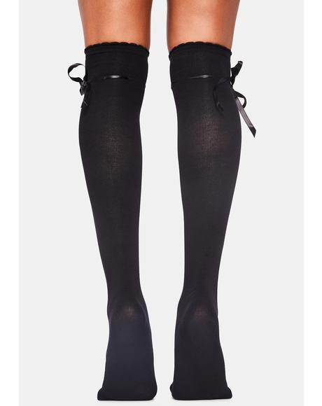 Quiet Dreams Knee High Socks