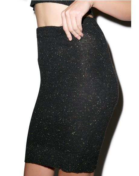Snow Flurry Pencil Skirt