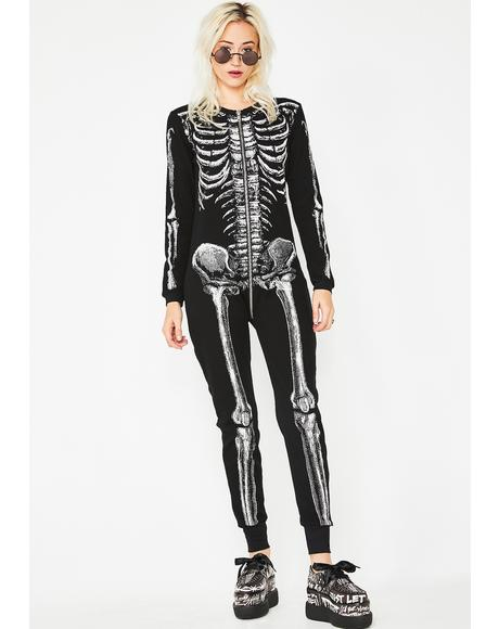 Lazy Bones Thermal Onesie
