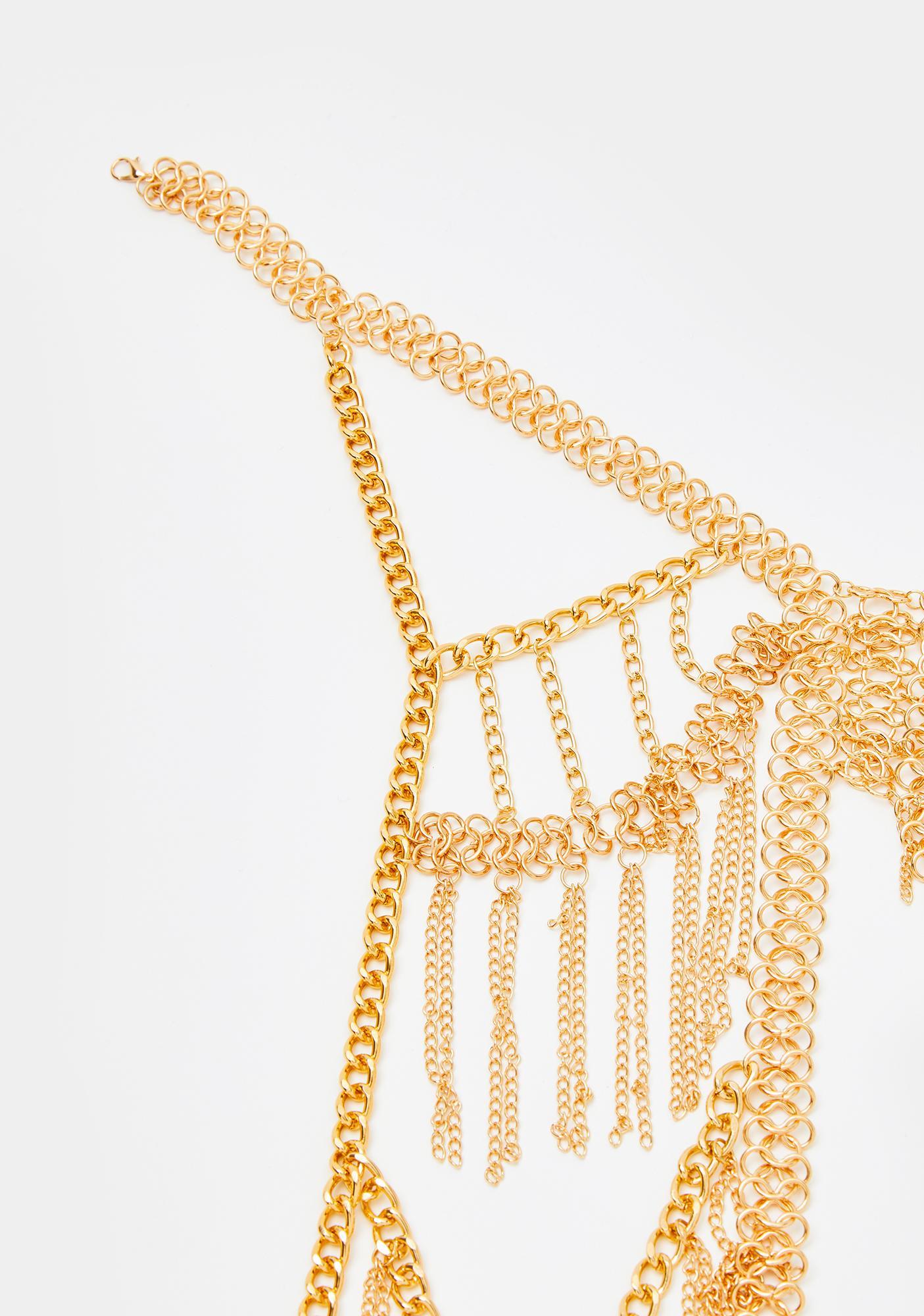 Desert Enchantress Body Chain