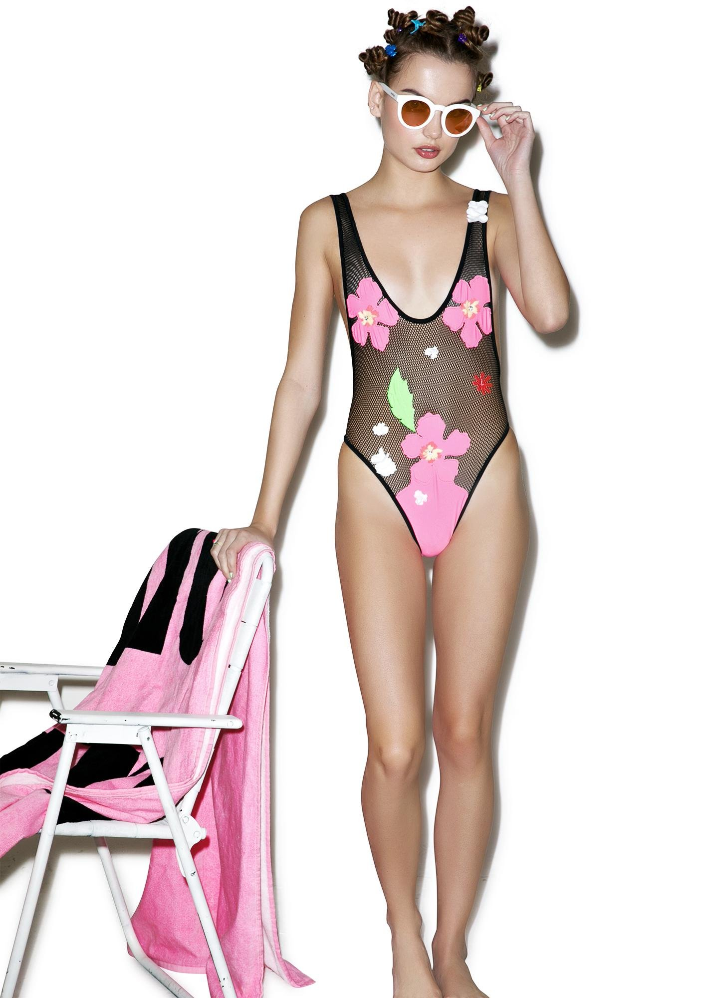 Lee + Lani The Hibiscus One Piece
