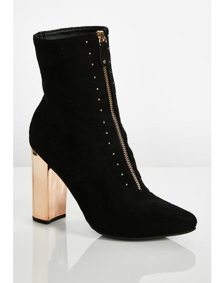 Feelin' Haute Studded Booties